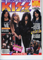 "1992 December ""THE COMPLETE HISTORY KISS AND OTHER HOT ROCKERS"" MAGAZINE! COMPLETE! MINT!"