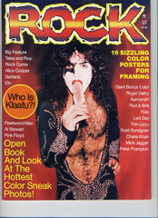 "1977 July ROCK"" MAGAZINE! COMPLETE! MINT!"