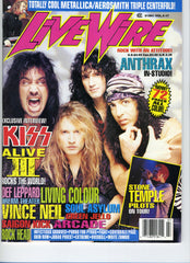 "1993 June/July ""LIVE WIRE"" MAGAZINE! COMPLETE! MINT!"