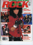 "1986 February ""ROCK SCENE"" MAGAINE! COMPLETE! NrMINT!"