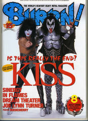 "2000 August JAPANESE ""BURN"" MAGAZINE! COMPLETE! MINT!"