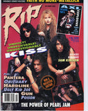 "1992 October ""RIP"" MAGAZINE! COMPLETE! MINT!"