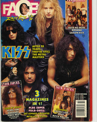 "1992 October ""FACES ROCKS '92"" MAGAZINE! COMPLETE! MINT!"