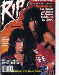 "1987 October ""RIP"" MAGAZINE! COMPLETE! NrMINT"