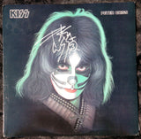 "1978 PETER CRISS PERSONALLY AUTOGRAPHED 1978 CASABLANCA RECORDS & FILMWORKS ""PETER CRISS SOLO LP""! AWESOME PIECE! VERY FRAMABLE! NrMINT"