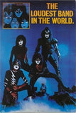 "1982 CREATURES OF THE NIGHT ""LOUDEST BAND IN THE WORLD"" PROMOTIONAL-ONLY POSTER! NrMINT!"