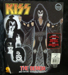 "2011 OOP Rubie's ""GENE SIMMONS"" Screen Printed Adult 'XL' Costume! COMPLETE! MINT!"