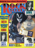 "1976 KISS U.S.ORIGINAL 'ROCK SCENE"" MAGAZINE W/BIG KISS STORY! EX+++!"