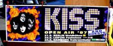 "1997 Original German Import ""1997 KISS REUNION ALIVE WORLDWIDE GIANT 4-PART BILLBOARD POSTER FOR GERMAN CONCERTS! UNBELIEVABLE! MINT!"