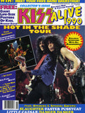 "1991 KISS U.S.ORIGINAL 'KISS ALIVE 1990"" MAGAZINE W/GIANT KISS POSTERS! MINT!"
