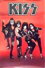 "2003 OFFICIAL KISS CATALOG 'K-MART' EXCLUSIVE ""KISS ALIVE IV THE SYMPHONY"" PROMOTIONAL-ONLY POSTER! MINT!"