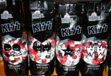 "2009 KISS CATALOG, LTD. U.S. OFFICIAL Set of (4) ""KISS M&M'S""! MINT!"