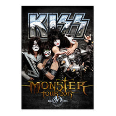 "2013 AUSTRALIAN LIMITED EDITION VERSION ""MONSTER"" TOURBOOK! MINT!"