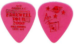 "2000 KISS OFFICIAL FAREWELL TOUR ""ACE FREHLEY CITY PICK - OKLAHOMA CITY 4-4"" GUITAR PICK MINT!"