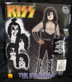 "2011 OOP Rubie's ""PAUL STANLEY"" Screen Printed Adult 'XL' Costume! COMPLETE! MINT!"