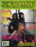 "1992 KISS HTF U.S.ORIGINAL 'SCREAMER"" MAGAZINE W/BIG KISS STORY! MINT!"