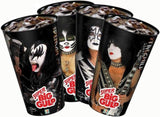 "2010 August THE KISS CATALOG, LTD. U.S. OFFICIAL ORIGINAL ""SET OF 4 7-11 KISS BIG GULP CUPS""! UNUSED! MINT!"