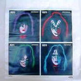 "1977 ORIGINAL OFFICIAL AUCOIN MANAGEMENT, INC. ""KISS SOLO LP'S PLASTIC TOTE BAG"" (UNUSED)! EX+++!"