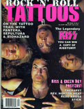 "1994 KISS RARE ORIGINAL U.S. 'RNR TATTOOS"" MAGAZINE W/KISS GIANT POSTER! MINT!"