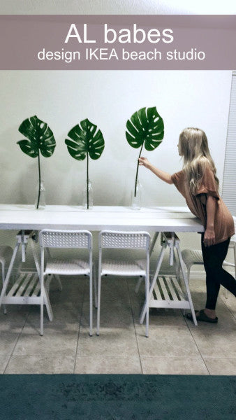#ALbabes Design IKEA Beach Studio