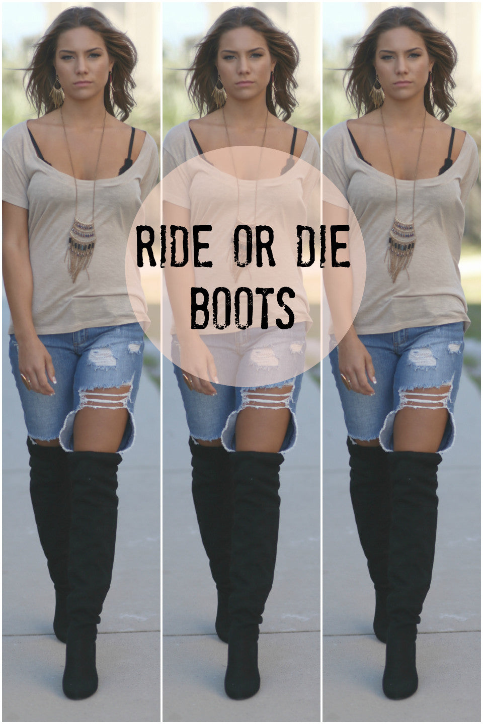 Ride Or Die Boots