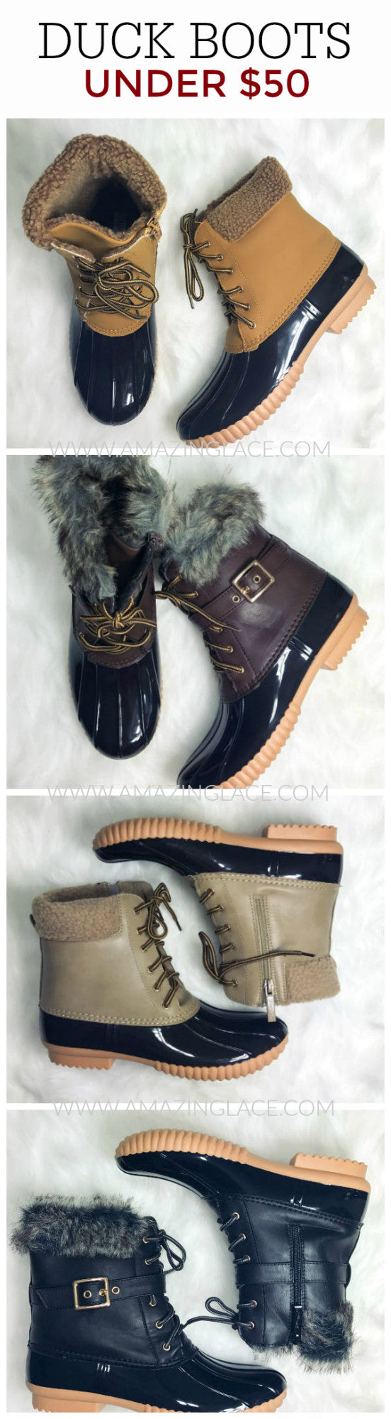 Weather Wonderland Duck Boots Are IN!!!