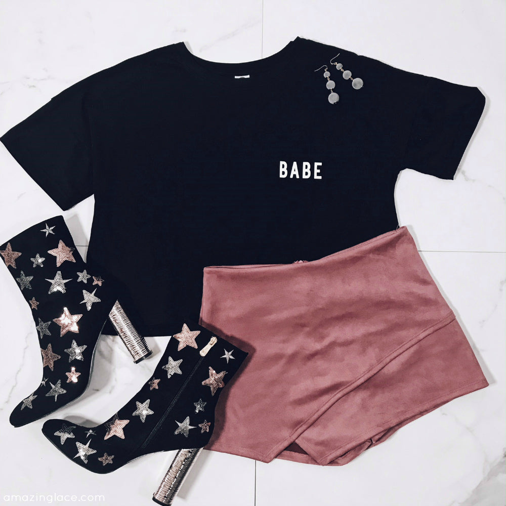 BABE TOP OUTFIT