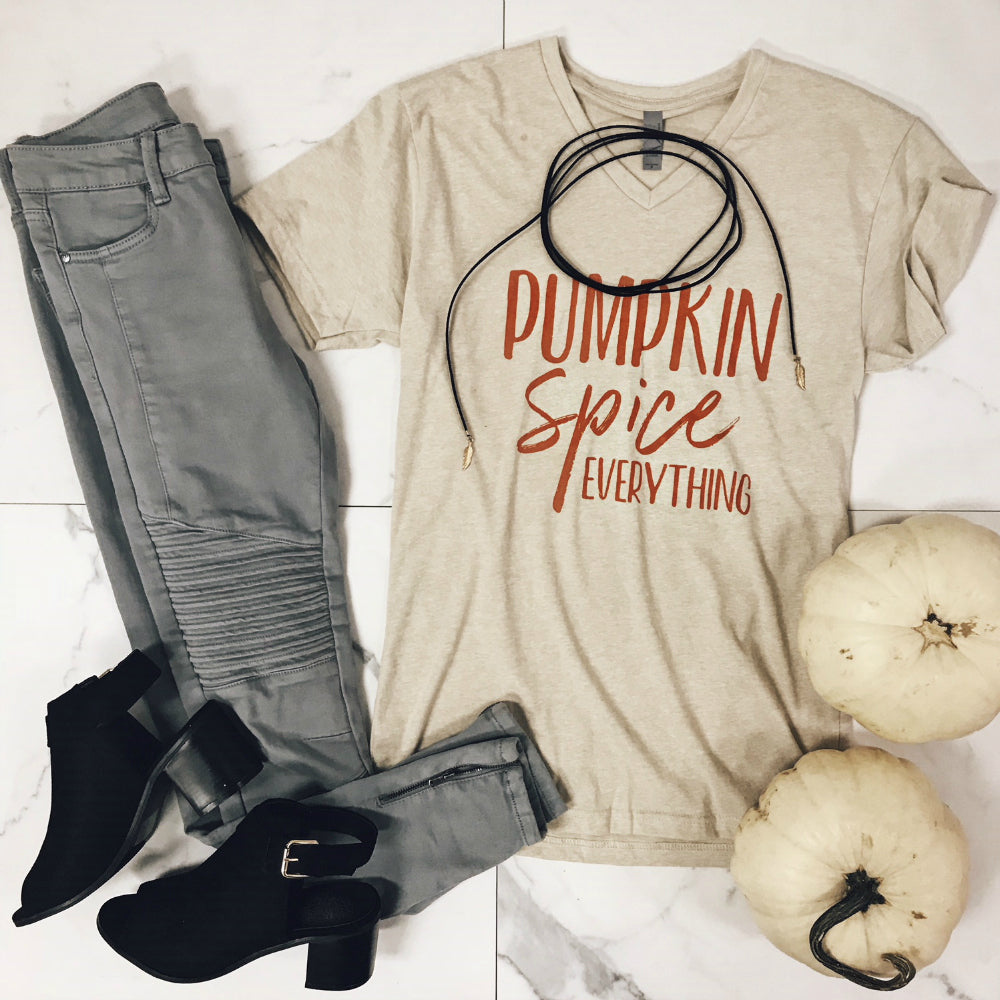 PUMPKIN SPICE EVERYTHING OUTFIT