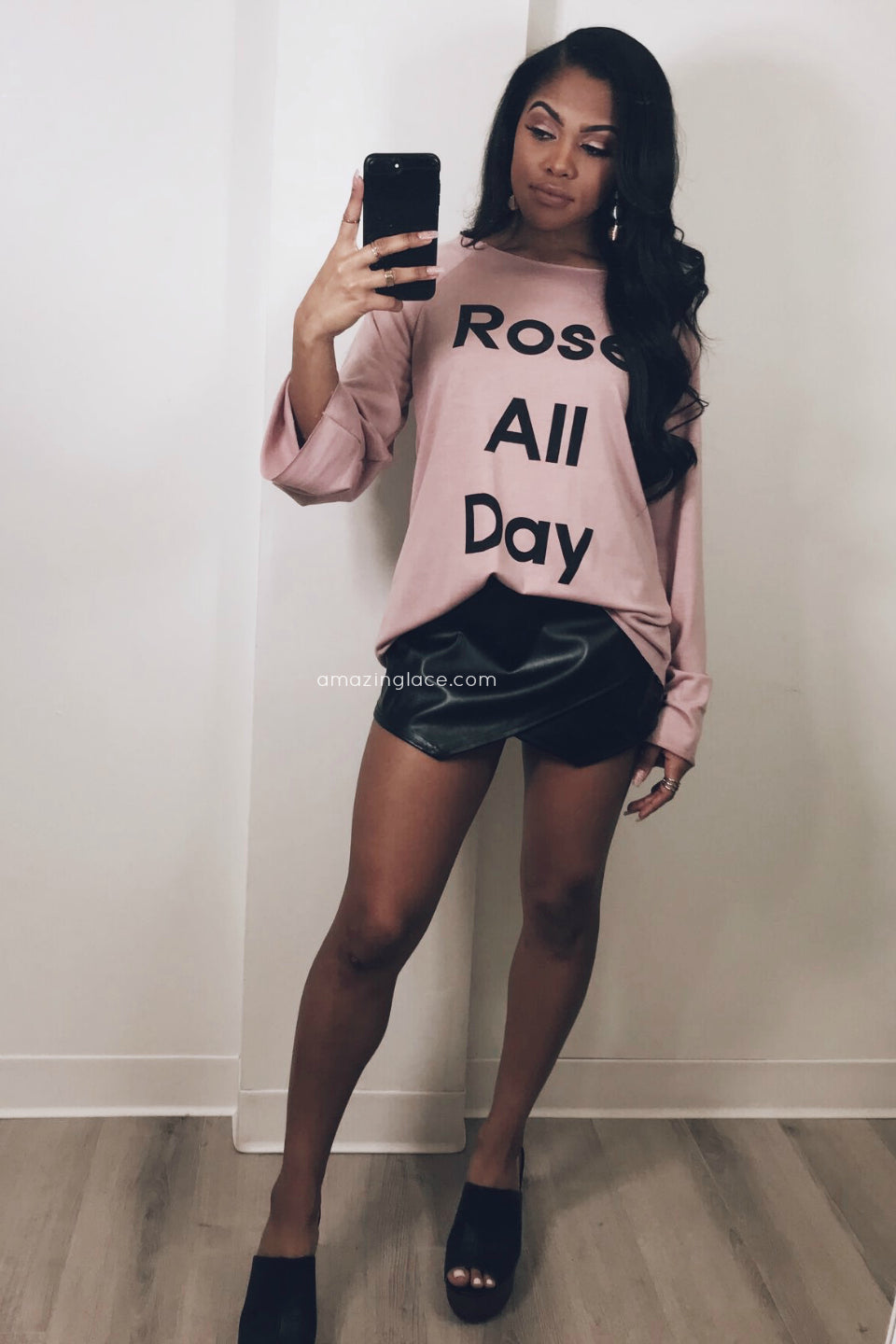ROSE' ALL DAY TOP OUTFIT
