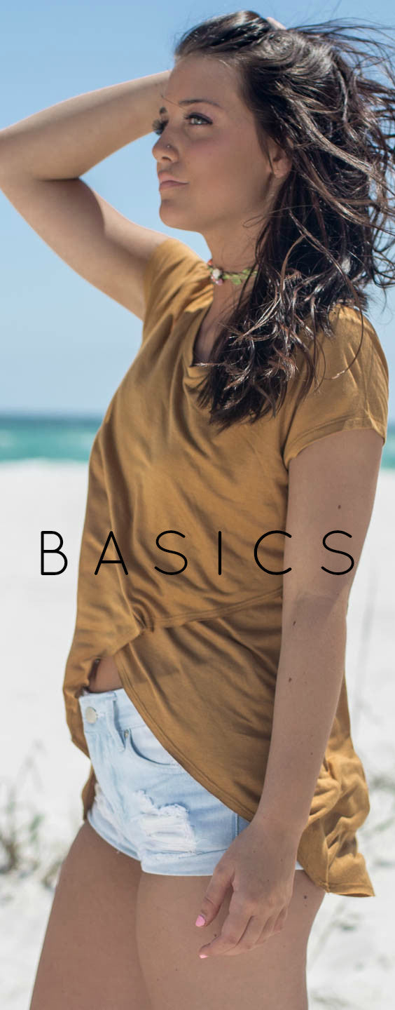 MORE BASICS for your closet!