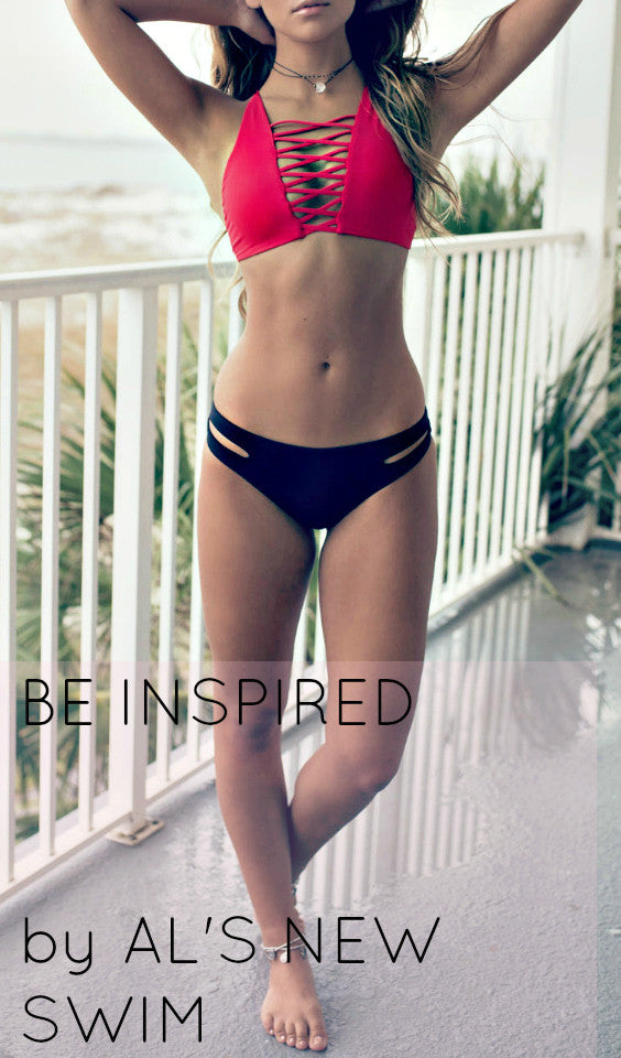 BE INSPIRED BY AL'S NEW SWIM