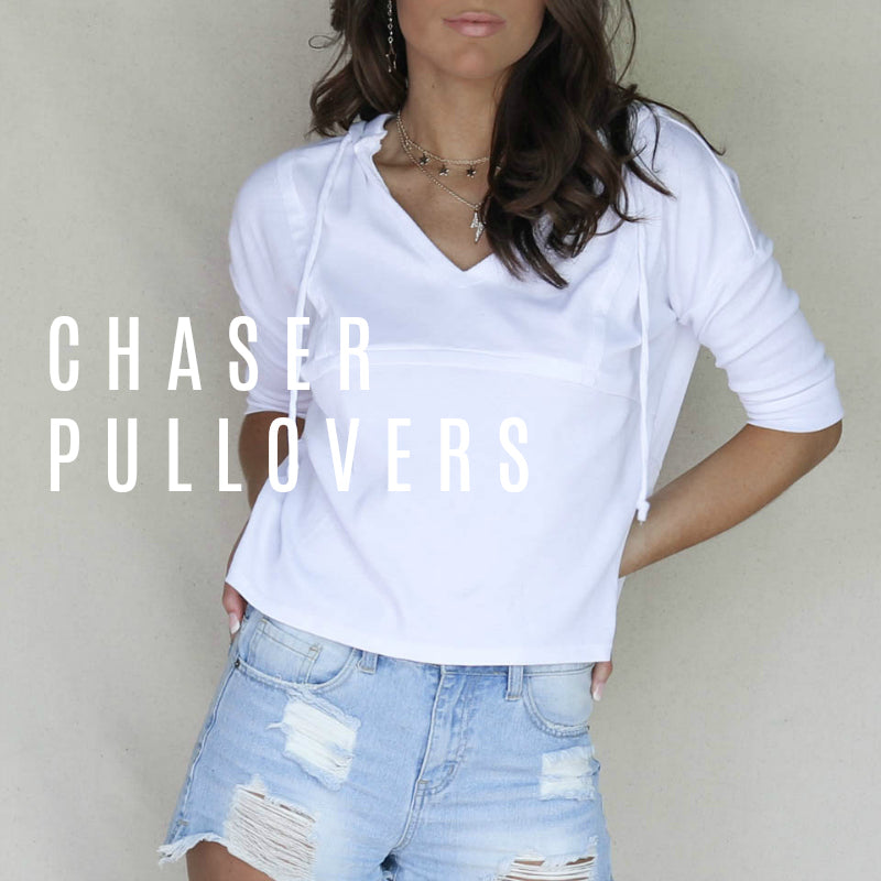 NEW CHASER PULLOVERS!