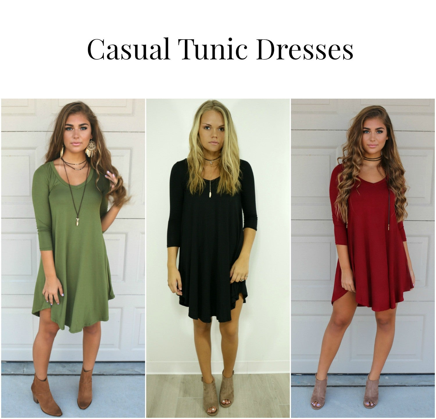 Casual Tunic Dresses