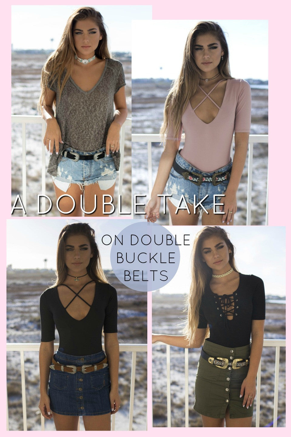 A Double Take On Double Buckle Belts