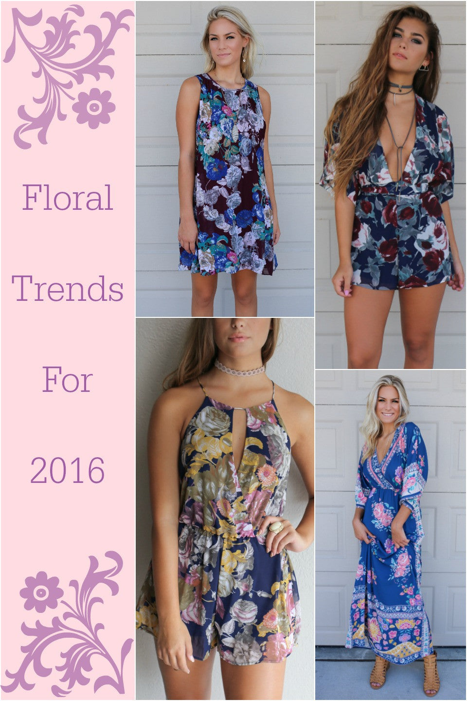 Floral Trends for 2016