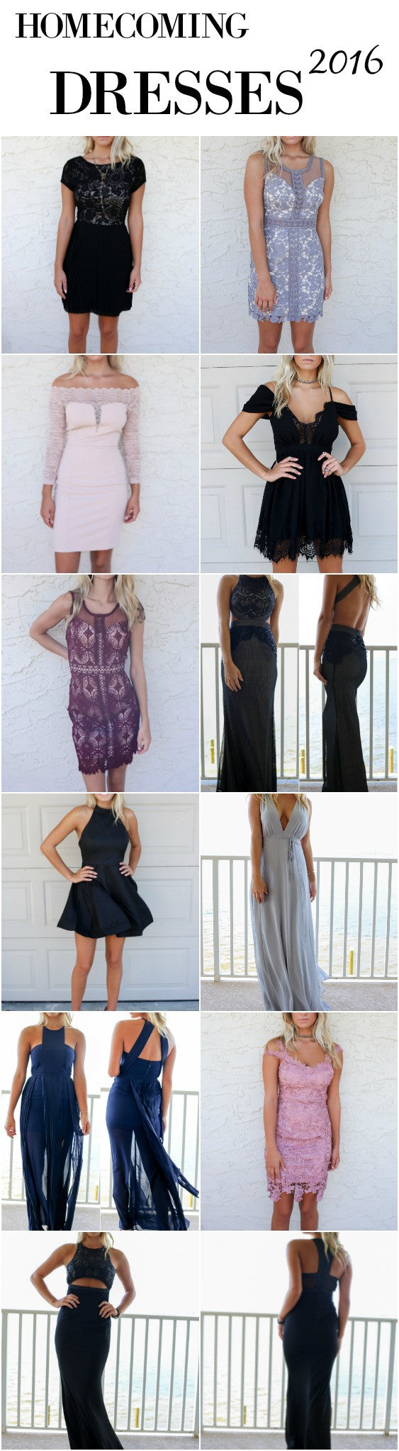 Homecoming Dresses 2016