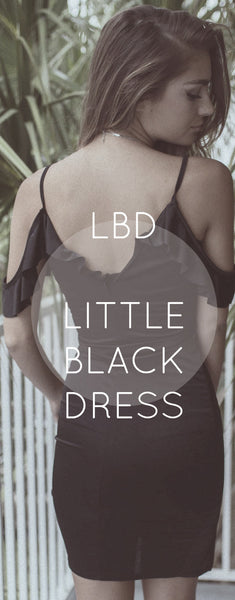 LBD - LITTLE BLACK DRESS