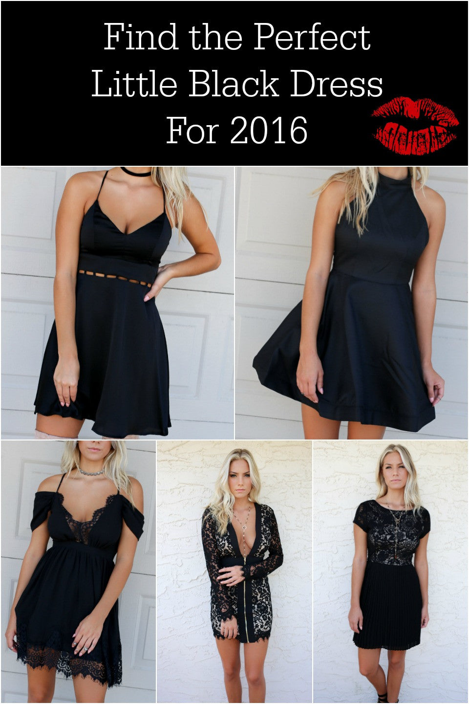 Find the Perfect Little Black Dress for 2016