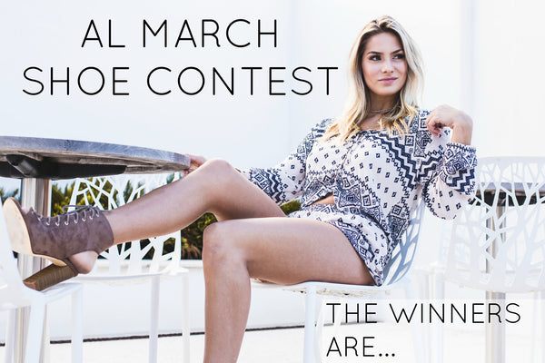 AL's March Shoe Contest