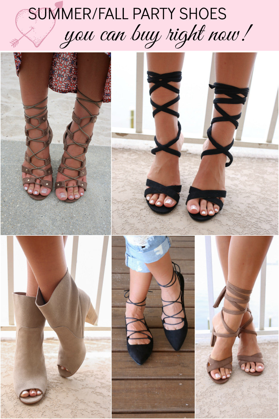 Summer/Fall Party Shoes You Can Buy Right Now!