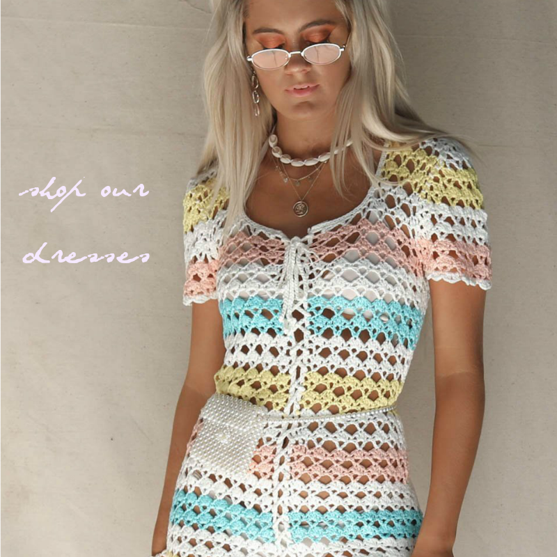 NEW Crochet + Lace Dresses
