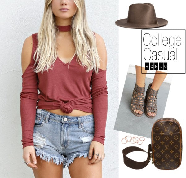 College Casual But Also Chic Style