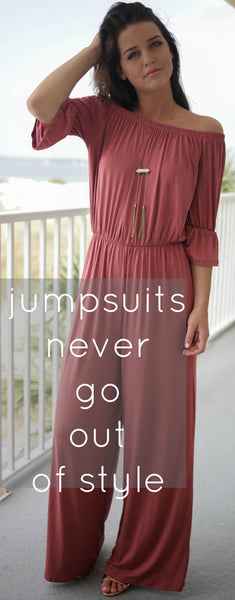 Jumpsuits Never Go Out Of STYLE!