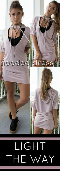 The Perfect Hooded Dress