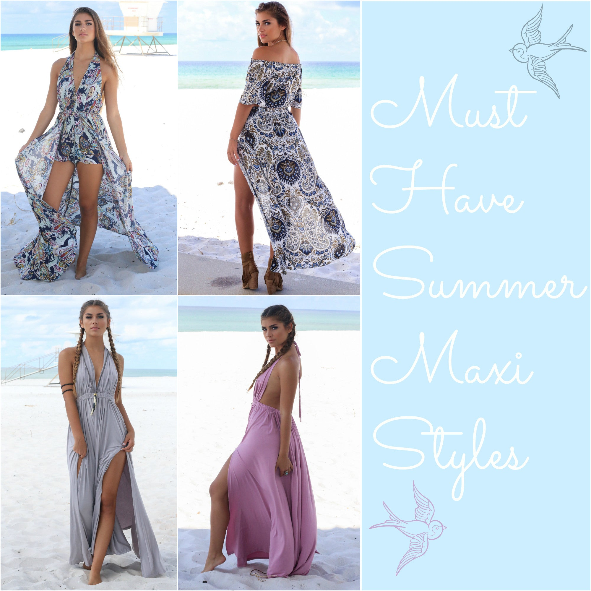 Must Have Summer Maxi Styles