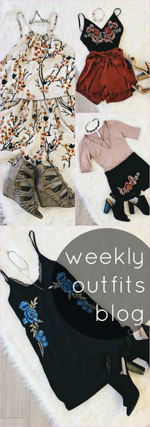 Weekly Outfits Blog