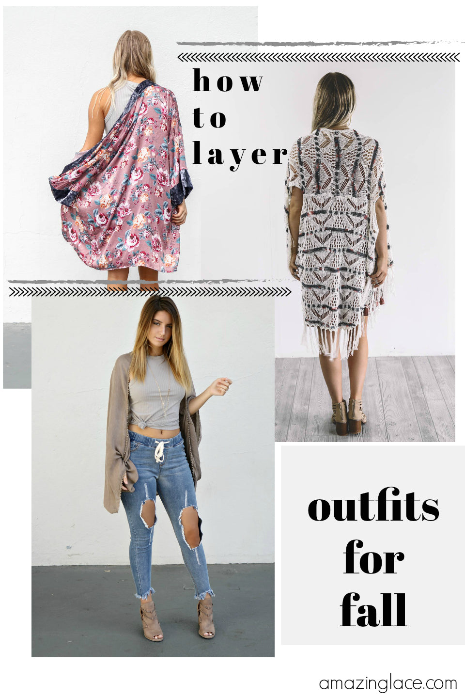 How To Layer Your Outfits For Fall