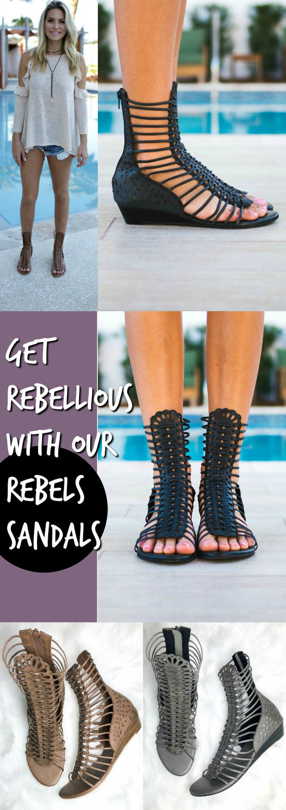 Get Rebellious With Our Rebels Sandals