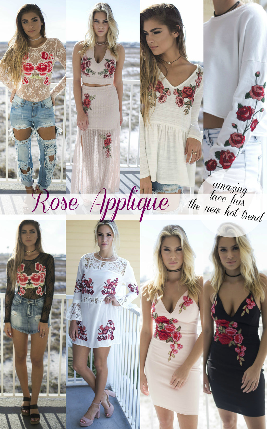 A New Hot Trend: Rose Applique