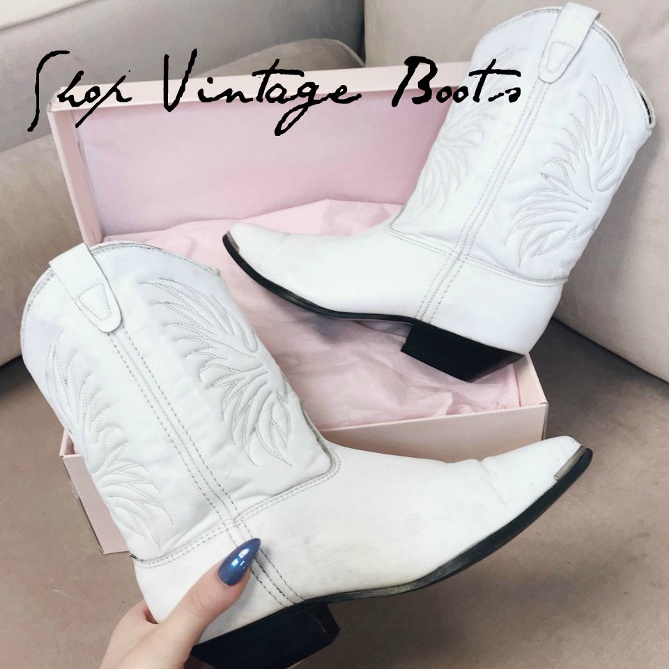 NEW VINTAGE BOOTS, BABES! Rare Finds For You